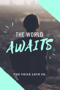 Free printable The World Awaits
