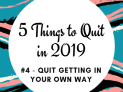 Quit getting in your own way in this new year. Learn how unhealed trauma is at the root of why you aren't hitting your goals. It can be corrected!