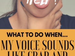 Need help for a ragged voice before your gig today? Help is HERE!