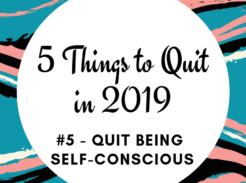 How to quit being self-conscious and find freedom in your voice and in your life today.