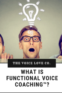 Tried other voice methods and they didn't work? Functional Voice Coaching™ might be the answer. Find your voice HERE!