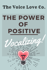 The Power of Positive Vocalizing presented by The Voice Love Co. Learn how the power of positive thinking affects the human voice here.