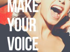 How to project your voice singing or speaking. Learn how to be LOUDER here!