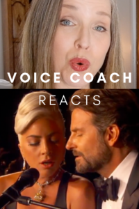Voice Coach reacts to Lady Gaga and Bradley Cooper sharing a mic at the Oscars 2019. Voice coach reacts to live performance of Best Song, Shallow.