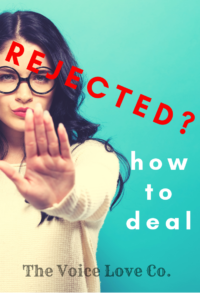 Rejected? Time to make friends with rejection and find freedom as a vocalist to NEVER QUIT. Learn more HERE at voicelove.co You Got This!