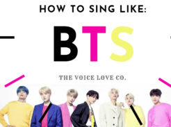 How to Sing Like BTS. Learn HERE at The Voice Love Co.