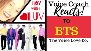 "Voice Coach REACTS to BTS, Boy with Luv. Veteran voice coach, Christi Bovee reacts to the live performance of BTS singing their new hit single ""Boy with Luv"" on SNL."