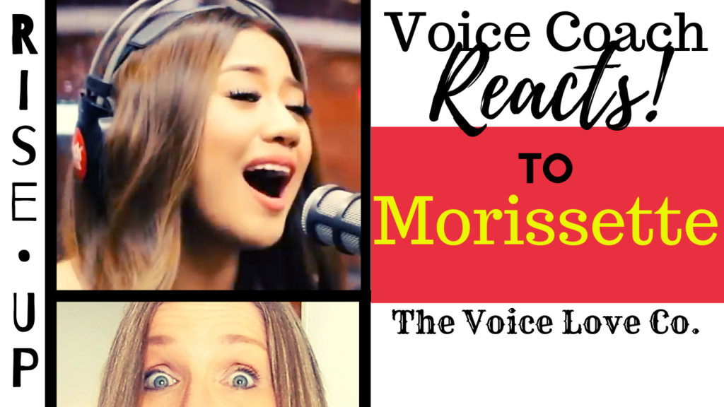 Voice Coach Reacts to Morissette at The Voice Love Co. HERE