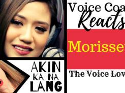 "Veteran Voice coach Christi Bovee reacts to Morissette Amon singing ""Akin Ka Na Lang"" here."